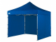 3m x 3m heavy duty pop up gazebo with side walls navy