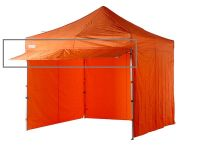 3m orange pop up gazebo awning extension